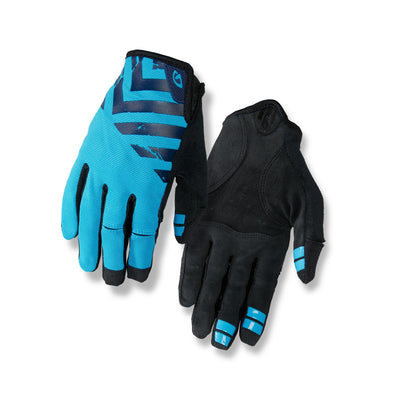 Giro DND Mountain Bike Gloves - Midnight/Blue/Black