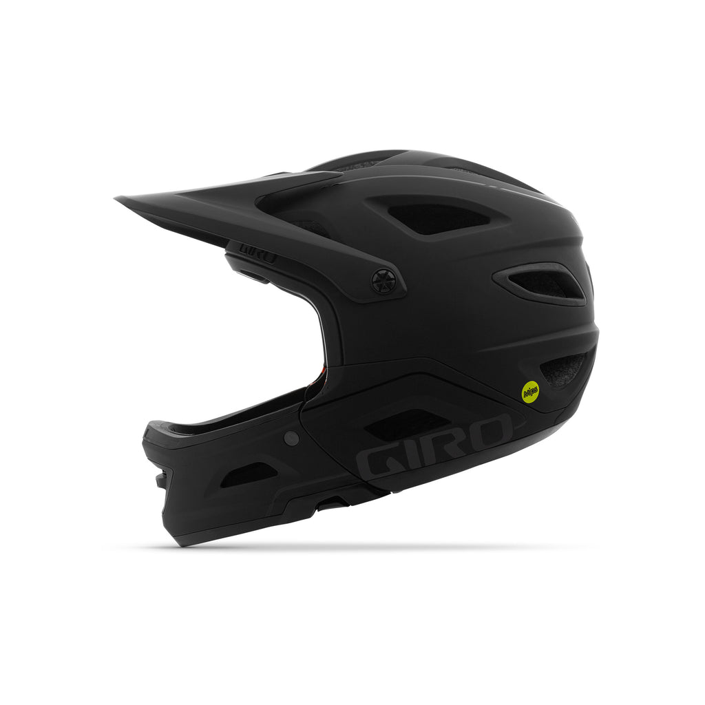 Giro Switchblade MIPS Downhill Helmet - Black - Profile