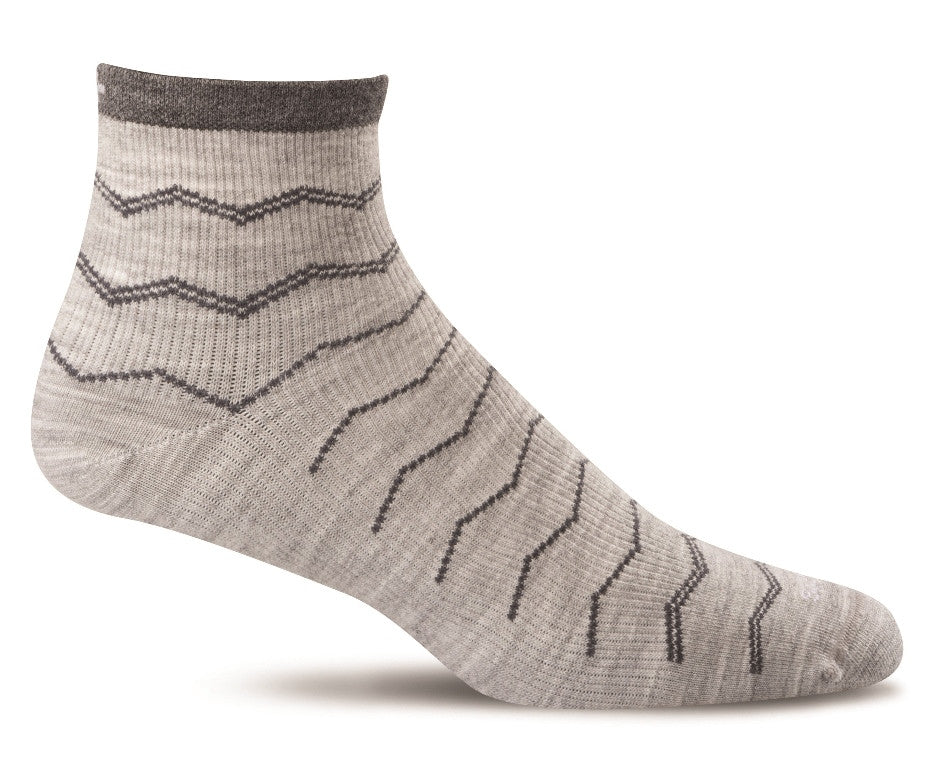 Sockwell Men's Plantar Ease Quarter Sock - Action Sports Factory