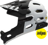 Bell-Super2r-MIPS-white-black-mountain-bike-Helmet
