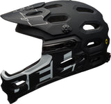 Bell Super 3R MIPS Mountain Bike Helmet - Black/White