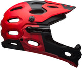 Bell Super 3R MIPS Mountain Bike Helmet - Black/Red