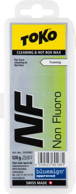 Toko No Fluoro Cleaning and Hot Box Wax 120 Gram - Action Sports Factory