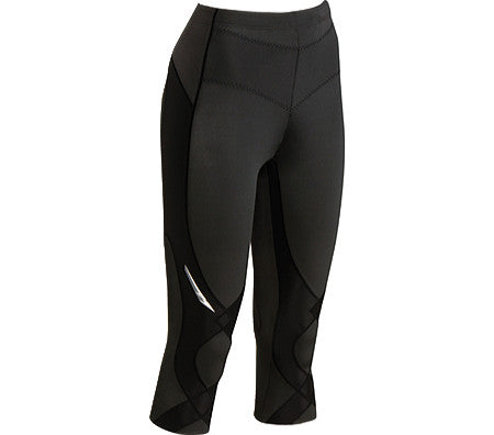 CW-X Stabilyx Performance Compression Tights - Women's 3/4 Length - Action Sports Factory