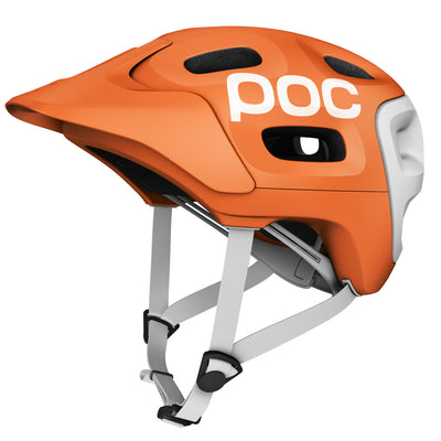 POC Trabec Race Mountain Bike Helmet - Orange/White