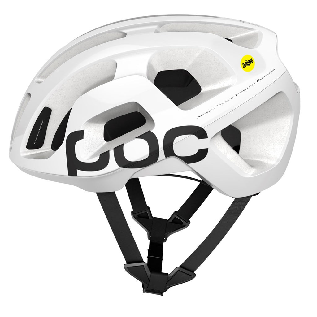 POC Octal AVIP MIPS Road Cycling Helmet - White