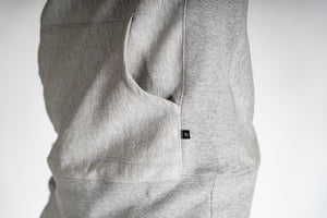 FR. Athletic Hooded Pullover | Grey