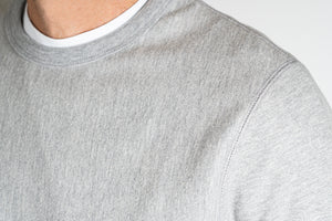 FR. Athletic Crew Neck Sweatshirt | Grey