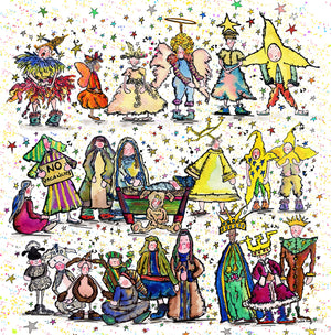 The Nativity Christmas Greeting Cards (Pack of 5)