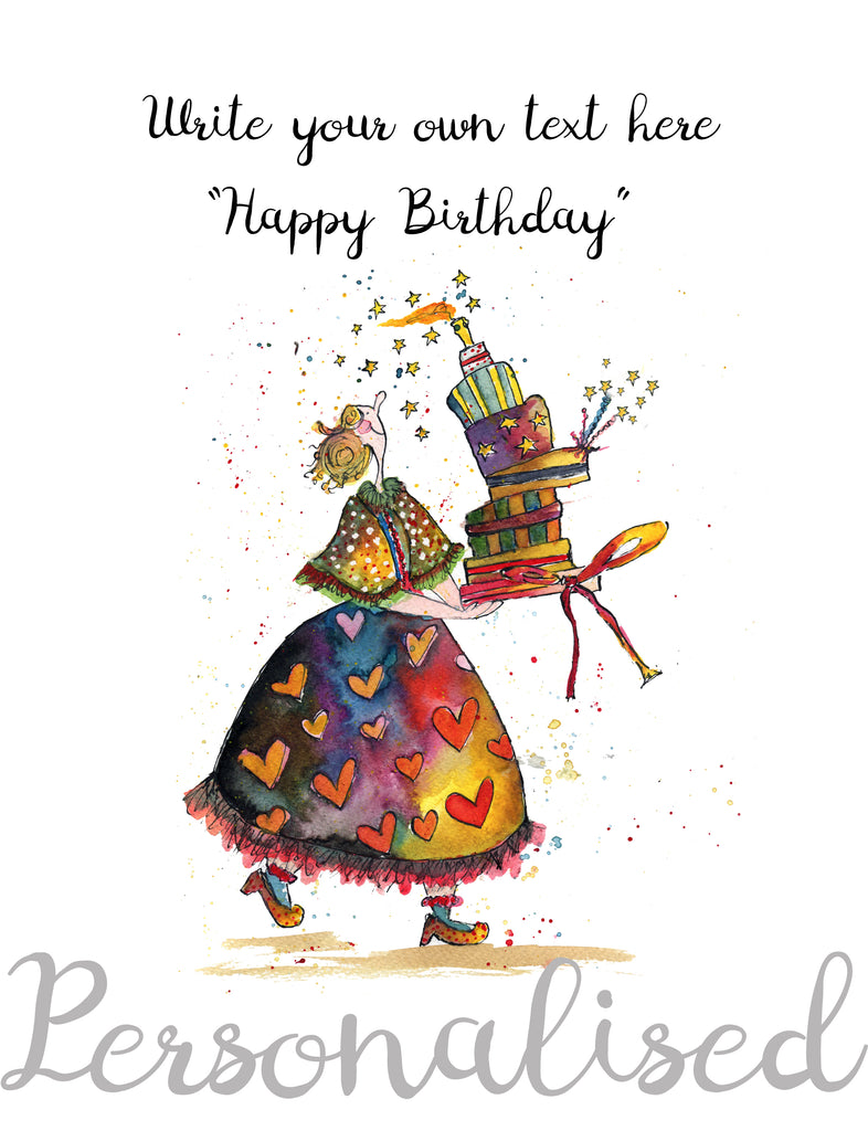 Happy Birthday - Personalised Print