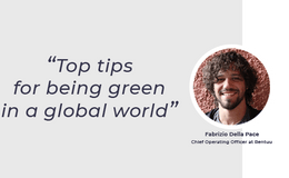 Top tips for being green in a global world