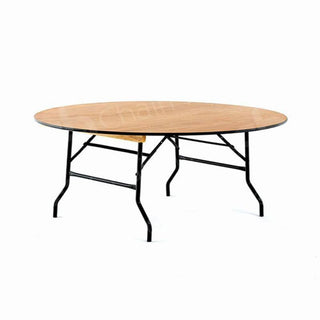 5ft6 Round Trestle Table Table Rentuu