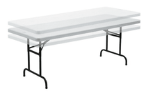 Adjustable Height 6′ Long Table Table Rentuu