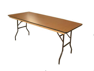"Bar Table 6ft X 2ft6"" Table Rentuu"