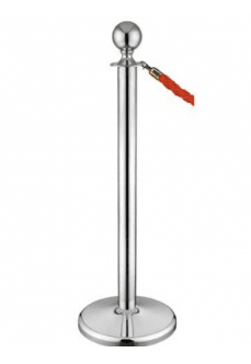 Barrier Post (Chrome) Barrier Post Rentuu