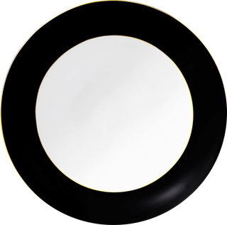 Black Rimmed Charger Plates Plates Rentuu