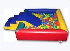 Bronze Soft Play Package - Ball pool with slide Ball Pool Rentuu