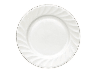 Buffet Plate 9″ Gold Line (packs of 10) Tableware Rentuu