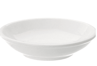 Butter Pad Plain White Tableware Rentuu