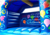 Chelsea Blue Adult Pary Time Bouncy Castle (XL) Bouncy Castle Rentuu