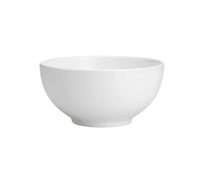 China Bowl 10″ Round Plain White Tableware Rentuu