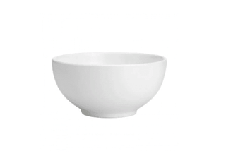 China Bowl 8″ Round Plain White Tableware Rentuu