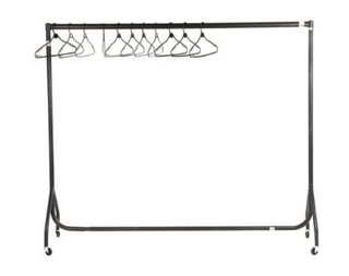 Coat Rail 6′ (up to 50 hangers) Coat Rail Rentuu