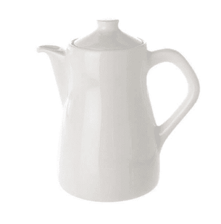 Coffee Pot Plain White Tableware Rentuu