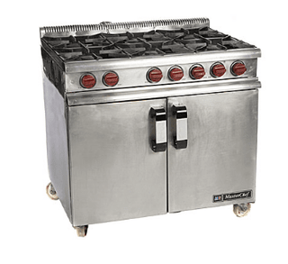 Cooker 6 Burner With Oven – L.P. Gas Cooker Rentuu