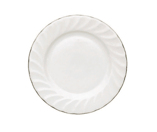 Dessert/Starter Plate 7.5″ Gold Line (packs of 10) Tableware Rentuu