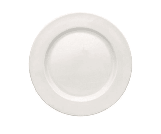 Dessert/Starter Plate 8″ Plain White  (packs of 10) Tableware Rentuu