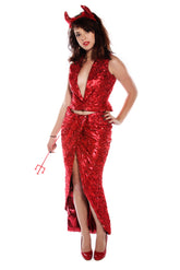 Devil Dress Costume Costume Rentuu