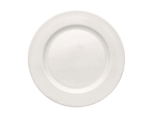 Dinner Plate 12″ Plain White  (packs of 10) Tableware Rentuu