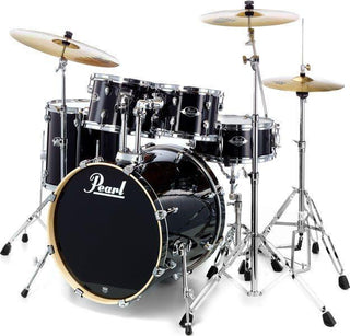 Drum Kit - Pearl Export EXX725SBR/C Jet Black Drum Kit – Fusion 2 version (cymbals not included) Drum Rentuu