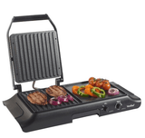 Electric Grill Griddle, Sandwich, Panini Press VonShef Grill Rentuu