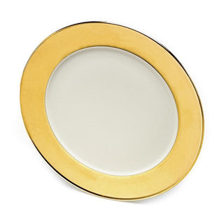 Gold Rimmed Charger Plates 13″ Plates Rentuu