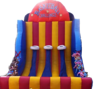 Inflatable Basketball Shootout Bounce Castle Rentuu