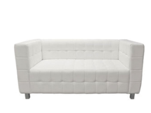 Kubus 2 Seater Sofa White Sofa
