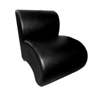 Leather Unit Chair (Black & White) Chair Rentuu