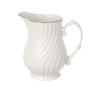Milk Jug Gold Line Tableware Rentuu