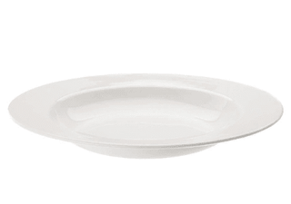 Pasta Plate 12″ Plain White  (packs of 10) Tableware Rentuu