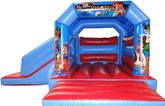 Pirate Party Bounce and Slide Bouncy Castle Rentuu