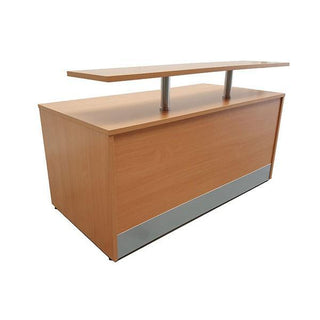 Reception Desk With Front Shelf Reception Desk Rentuu