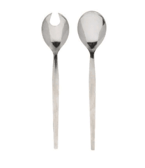 Salad Servers Traditional Plain cutlery Rentuu