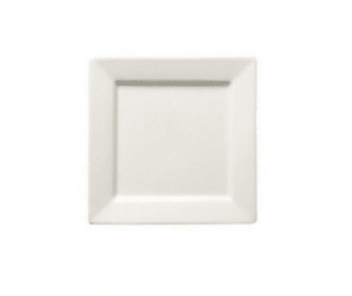 Side Plate 6.5″ Square Plain White  (packs of 10) Tableware Rentuu