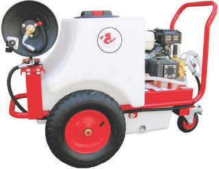 Small Bowser Mounted Pressure Washer - petrol Pressure Washer Rentuu