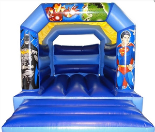 Super Heroes /Avengers Bouncy Castle - Batman, Superman, Iron Man, Hulk Bouncy Castle Rentuu