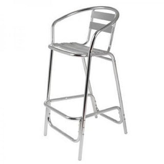 Tall Bar Stool (Aluminium) Chair Rentuu