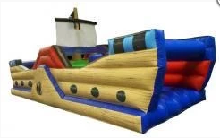 Ultimate Pirate Ship Obstacle Course (XXL) Bouncy Castle Rentuu