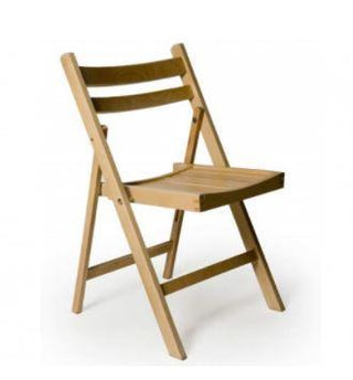 Wooden Fold Flat Chair Chair Rentuu